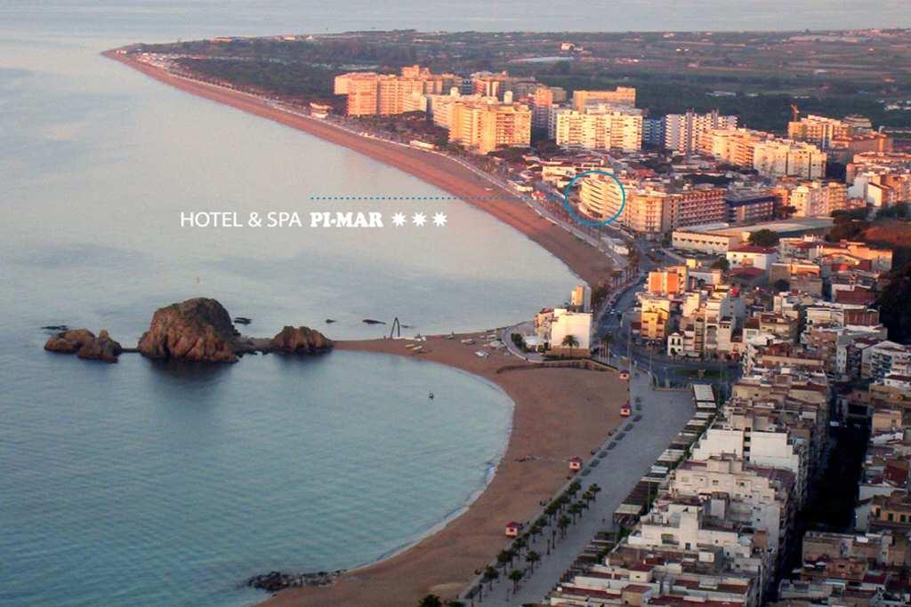 L'hôtel pimar est un hôtel avec spa situé sur la costa brava, au bord de la mer.